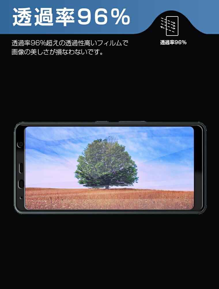 Xperia XZ3 フィルム カメラ