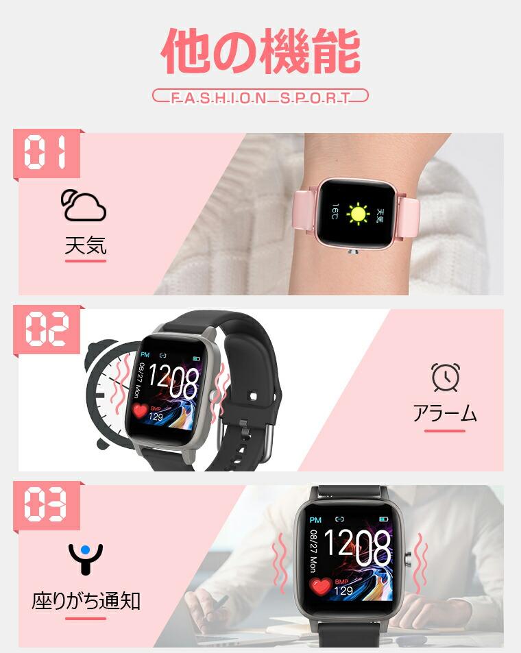 スマートブレスレット 活動量計 日本語説明書