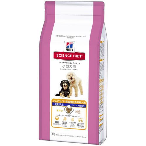 【訳あり】(ペット10倍)ドッグフード 日本ヒルズ 賞味期限:2019年9月サイエンス・ダイエット シニアライト 小型犬用 肥満傾向 高齢犬用 750g (いぬ、犬、イヌ)(ドライフード、ペットフード)(7歳以上)