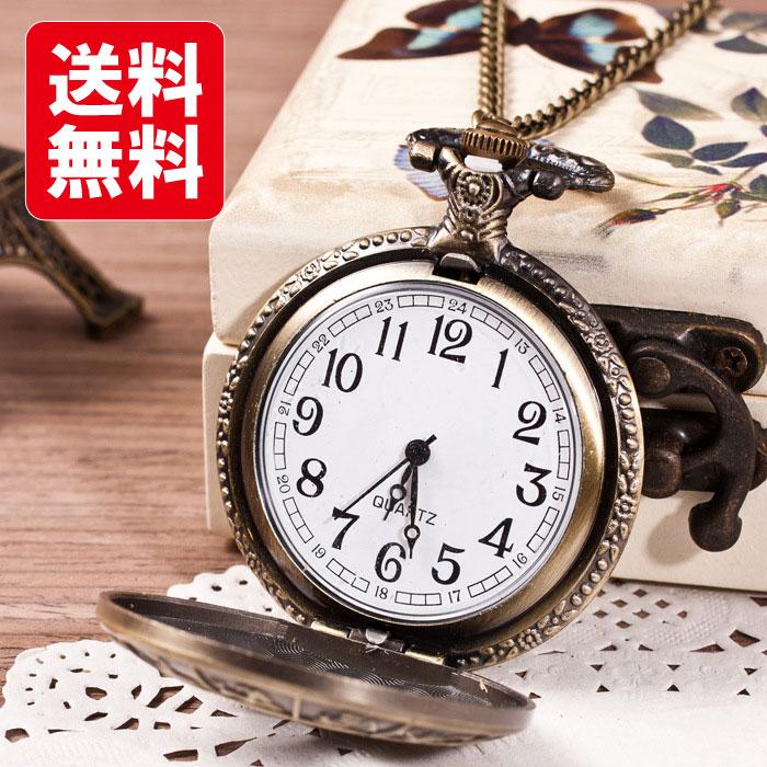 十二星座のアンティーク懐中時計
