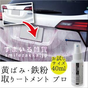 黄ばみ・鉄粉取りートメントプロ40ml