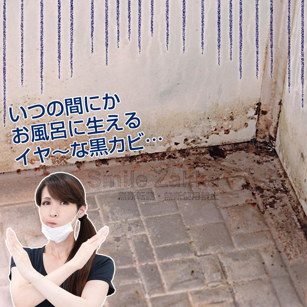 密着仕事人 お風呂の黒カビ編