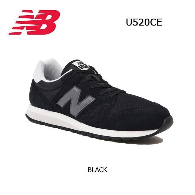 b6a7edf280b6e ニューバランス new balance スニーカー U520CE BLACK 【靴】メンズ レディース 日本正規品