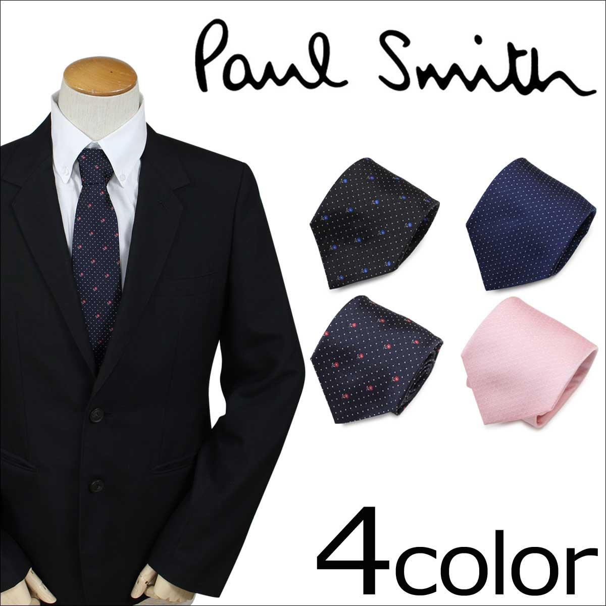 ポールスミス ネクタイ シルク メンズ Paul Smith ギフト ケース付  イタリア製 ビジネス 結婚式