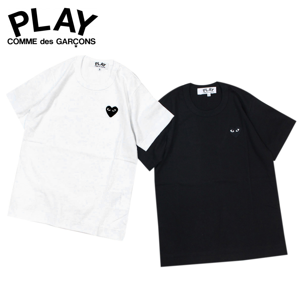 Sneak Online Shop Play T Shirt Short Sleeves Comme