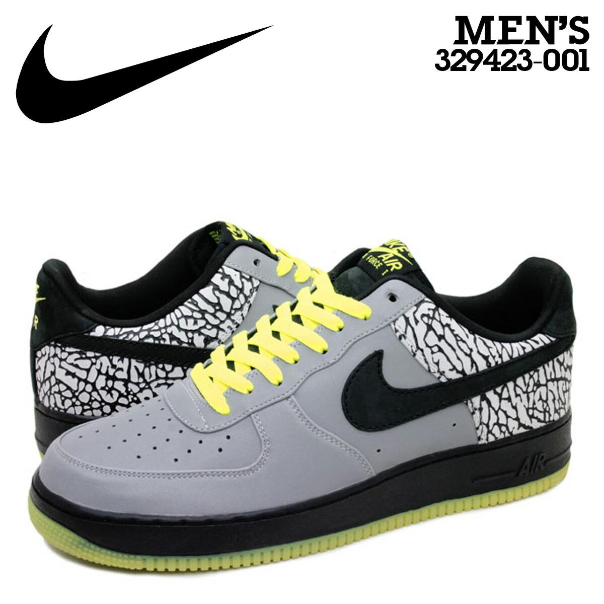 Nike NIKE air force sneakers AIR FORCE 1 LOW PREMIUM 112PACK DJ CLARK KENT Air Force One low premium 329,423 001 gray men