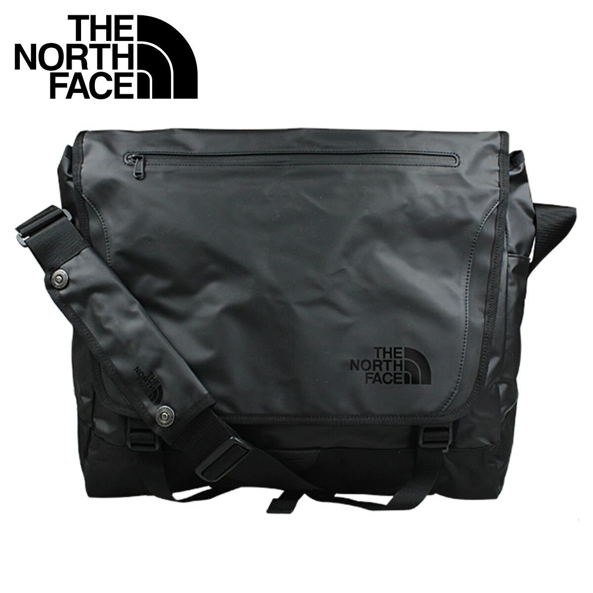 719c14d0c North Face THE NORTH FACE messenger bag black A7KV BASE CAMP MESSENGER  LARGE men