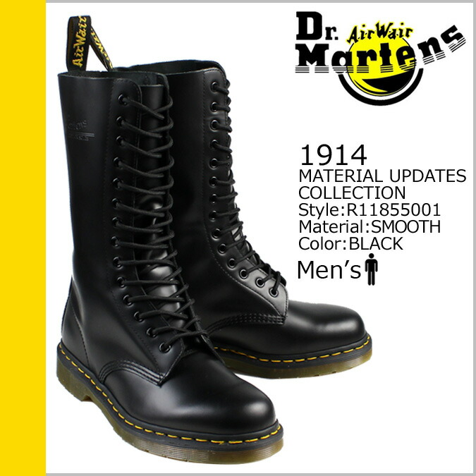 Dr.Martens and MATERIAL UPDATES COLLECTION 1914 /