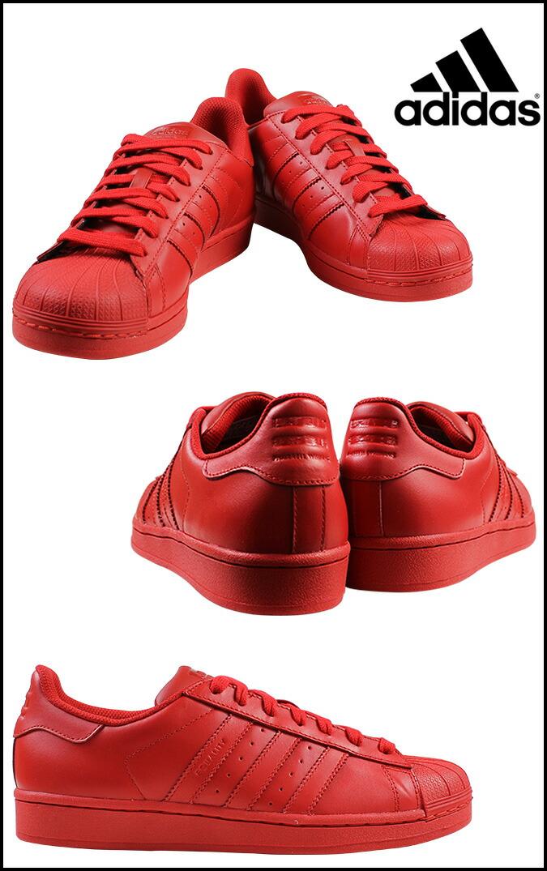 Adidas Superstar Colors Red aoriginal.co.uk