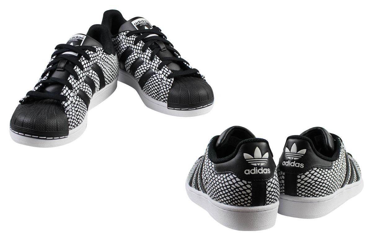 design intemporel cc74f d1862 Adidas originals superstar adidas Originals sneakers SUPERSTAR SNAKE PACK  S81728 men gap Dis black
