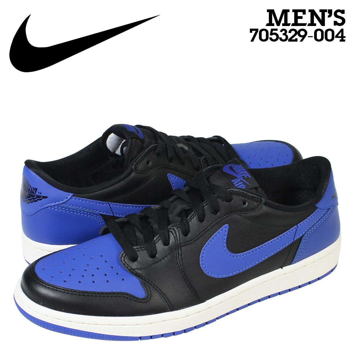 Nike NIKE Air Jordan sneakers men AIR JORDAN 1 RETRO LOW OG Air Jordan 1 nostalgic low 705,329 004 blue