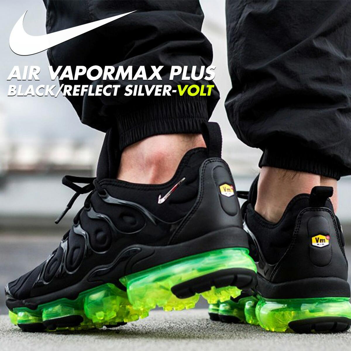 reputable site 8e682 17979 NIKE AIR VAPORMAX PLUS Nike vapor max plus sneakers men gap Dis black  924,453-015