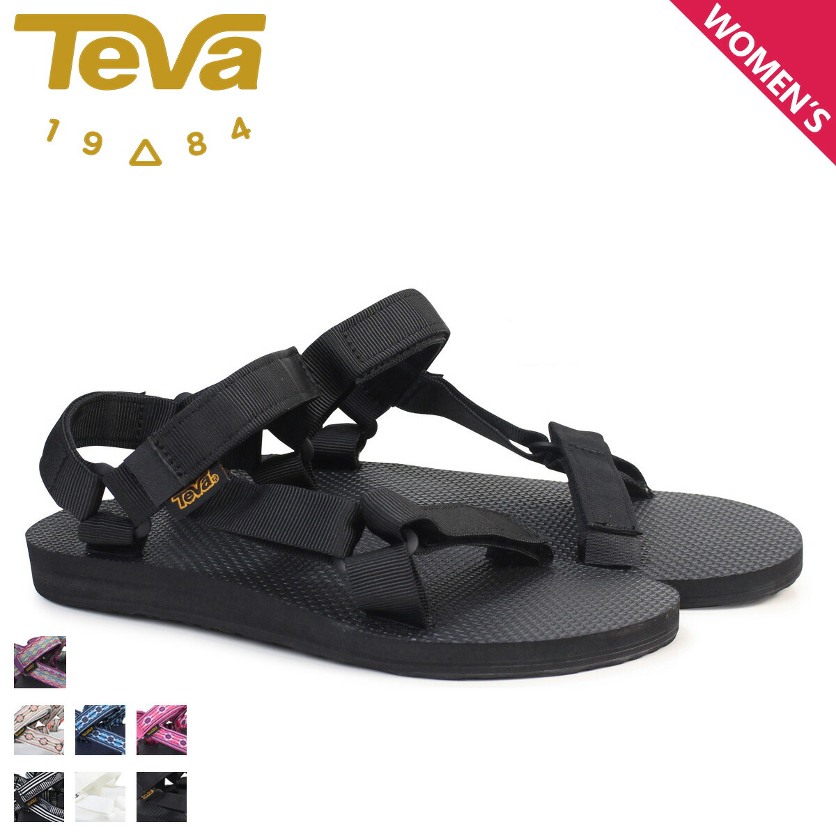 b187a7659 SneaK Online Shop  Teva Teva sandals Lady s original universal ... Teva