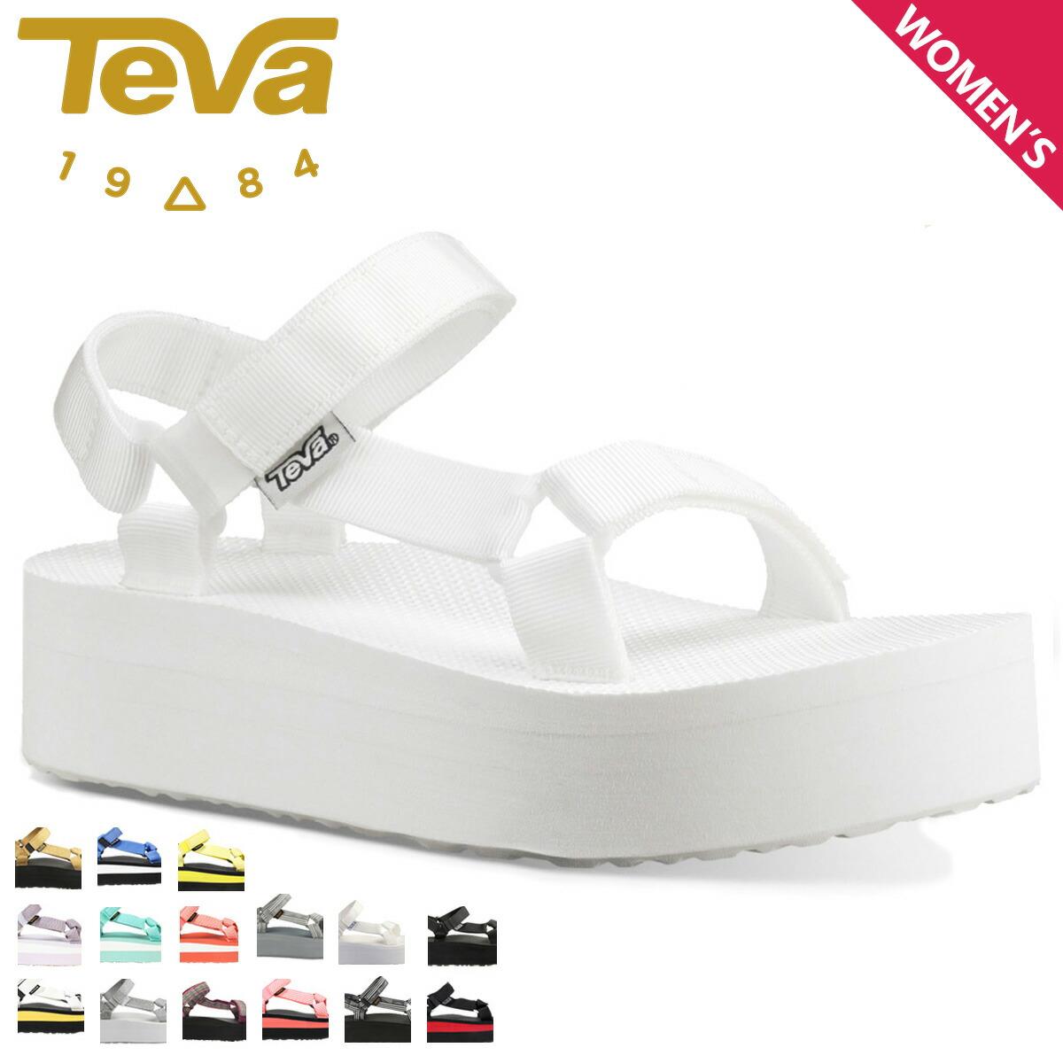 23935a89a49 Teva Teva sandals Lady s thickness bottom W FLATFORM UNIVERSAL flat form  universal 1008844