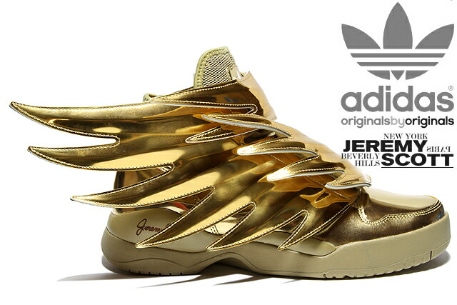b25b509d7080 Adidas Jeremy Scott Wings 3.0 Gold mrperswall.com.au