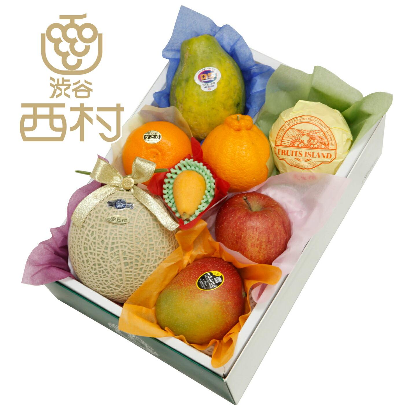 マスクメロン入り季節のフルーツセット