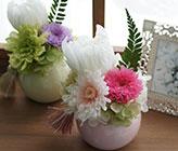 プリザーブドフラワー お供え花