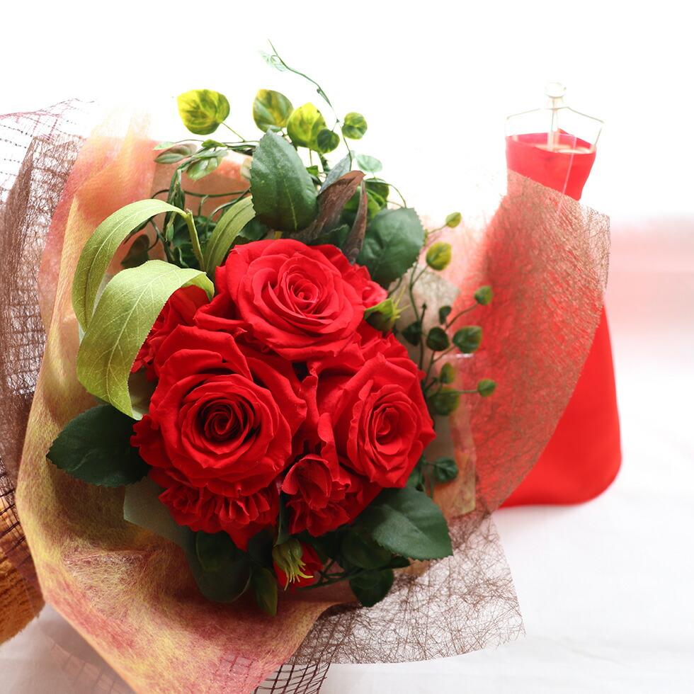プリザーブドフラワー 花束 クリスマスプレゼント ギフト
