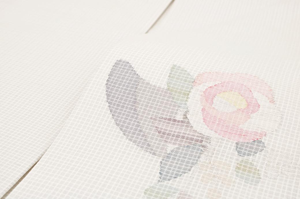 色無地や小紋に合う正絹九寸名古屋帯