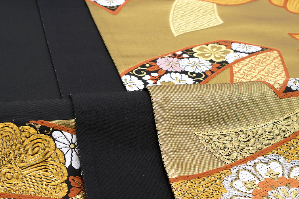 【訳あり】結婚式や成人式の振袖によく合う高級袋帯