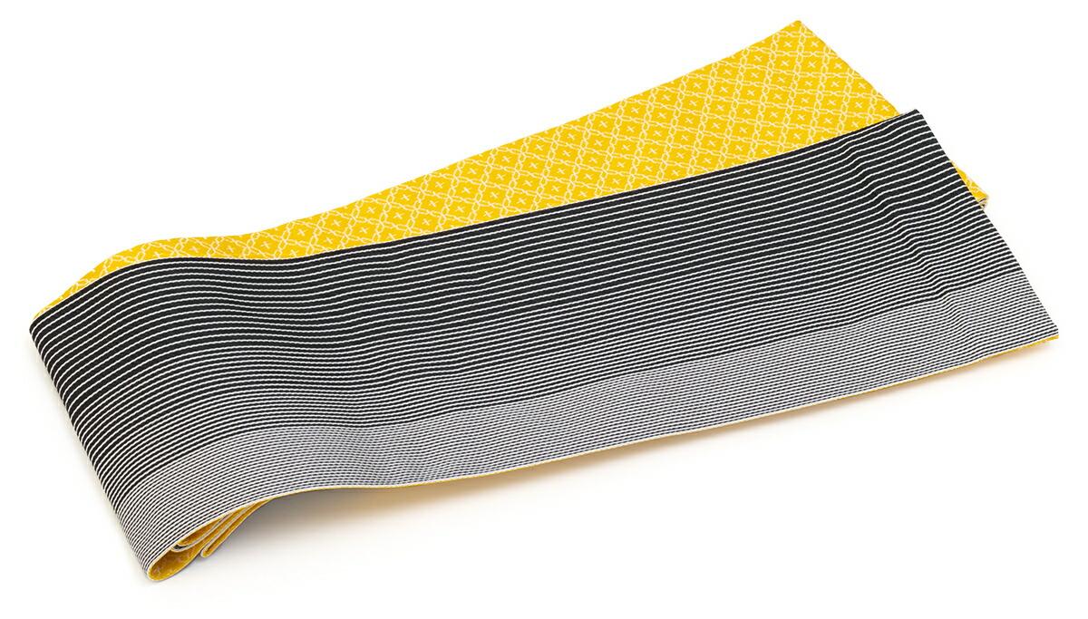 リバーシブルで両面使える『moika』の半幅帯