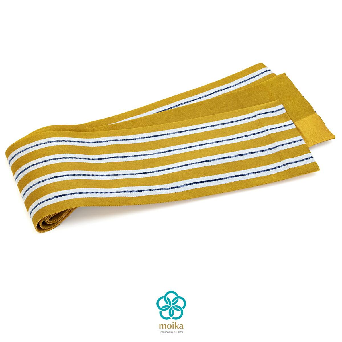 浴衣や夏着物にオススメな『moika』の半幅帯