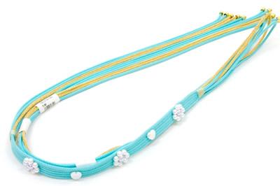 振袖 帯締め 水色 振袖用帯締め 成人式帯締め