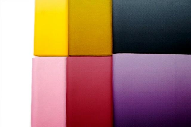 選べるカラバリ6色の単衣半幅帯