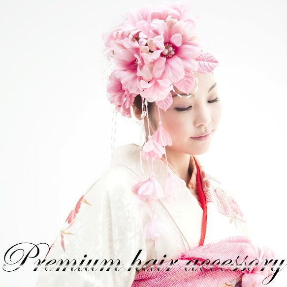 成人式の振袖・卒業式の袴に,髪飾り