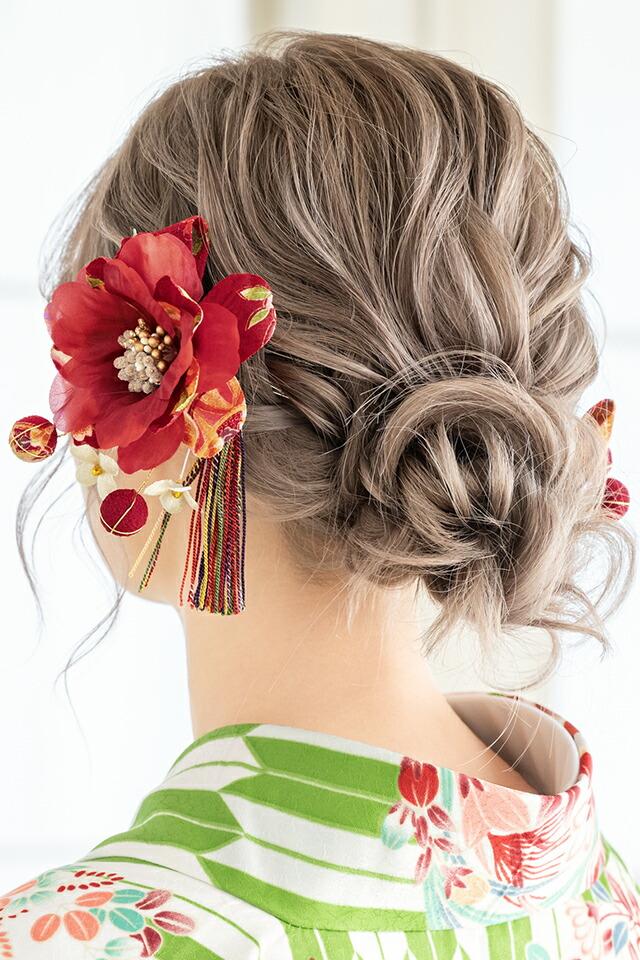 成人式の振袖や卒業式の袴におすすめな髪飾り