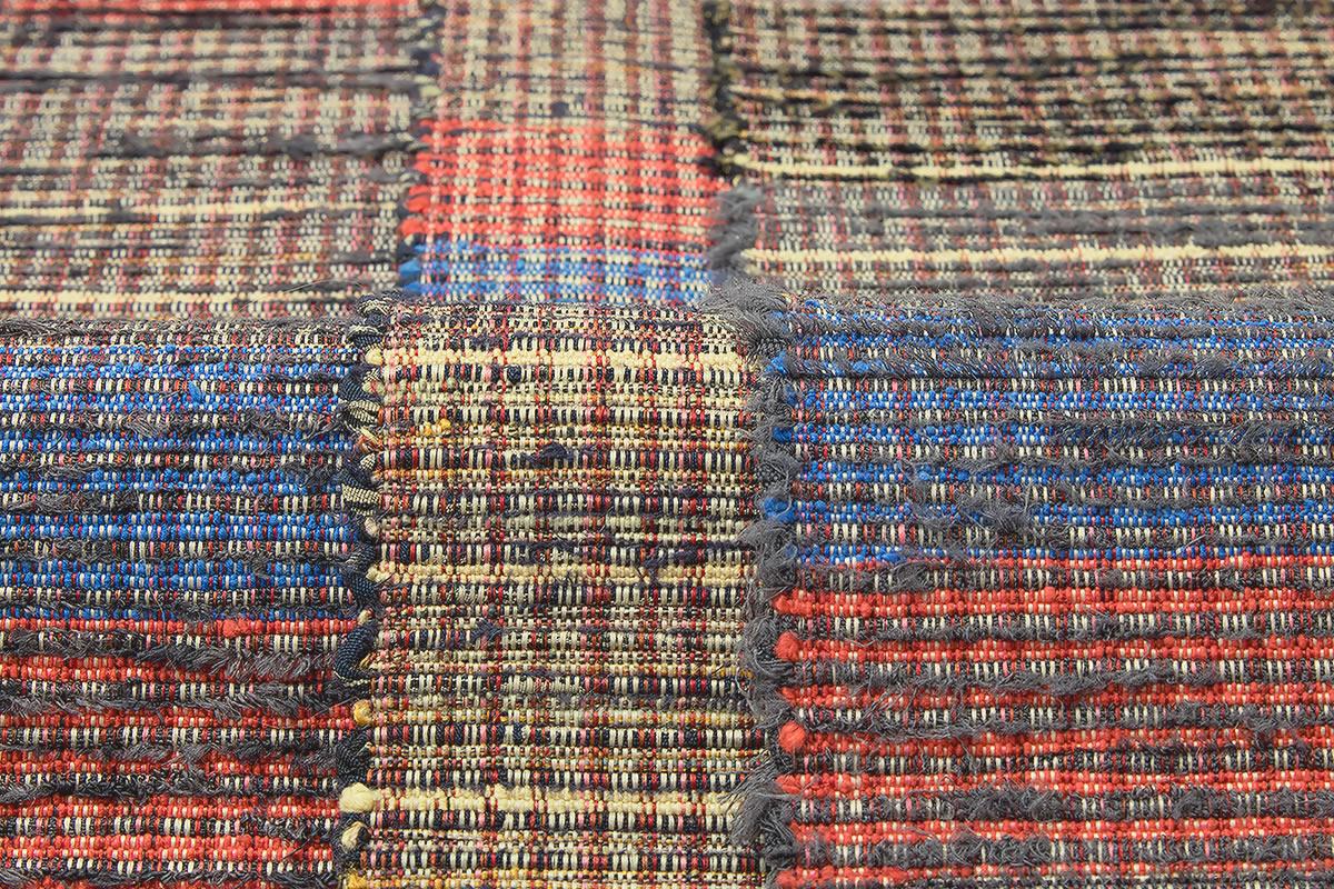 一年を通して使える「手織り 裂織布」の角帯