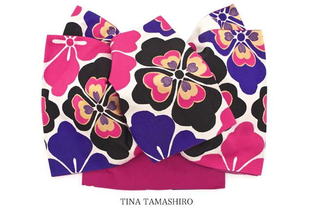 ブランド『玉城ティナ×キスミス』の日本製高級袋帯