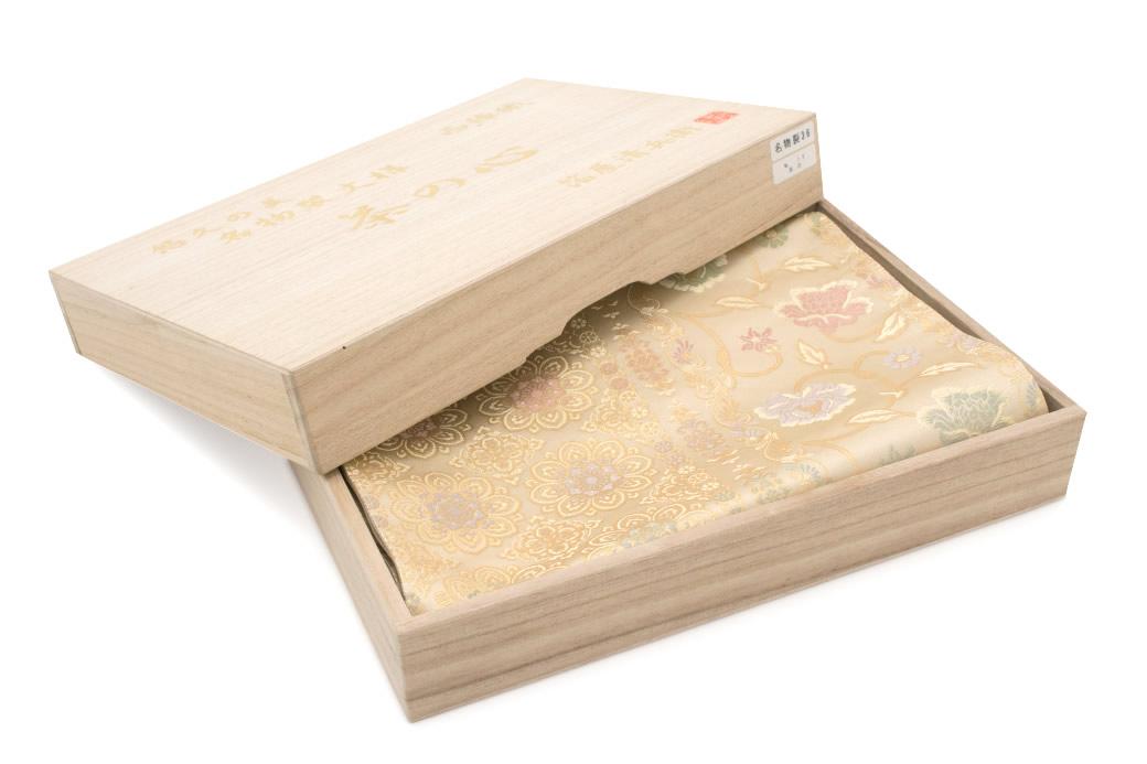 フォーマル・カジュアル兼用の西陣織り袋帯