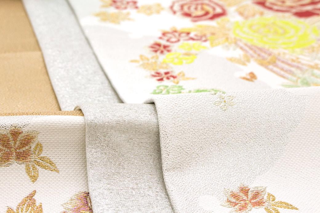 訪問着や色無地、小紋によく合う西陣織袋帯