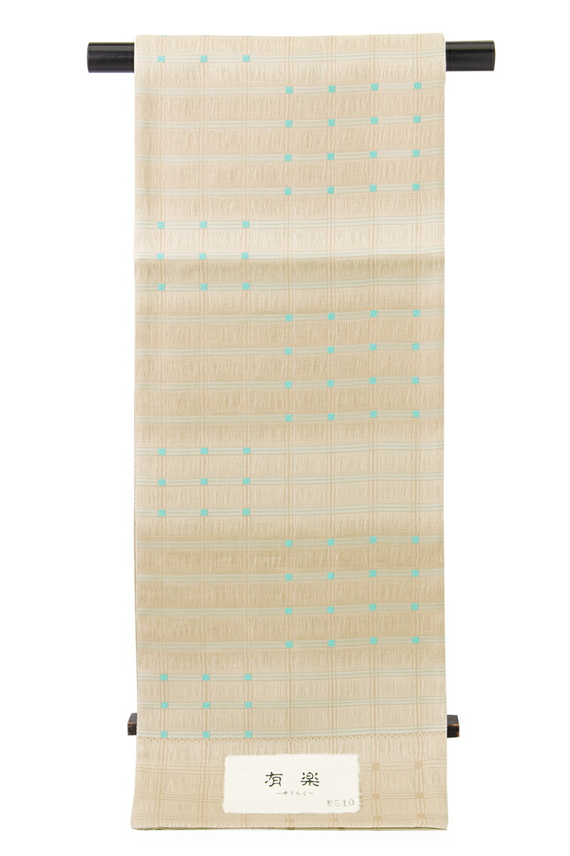 しゃれ訪問着や色無地、紬などに合う西陣織袋帯
