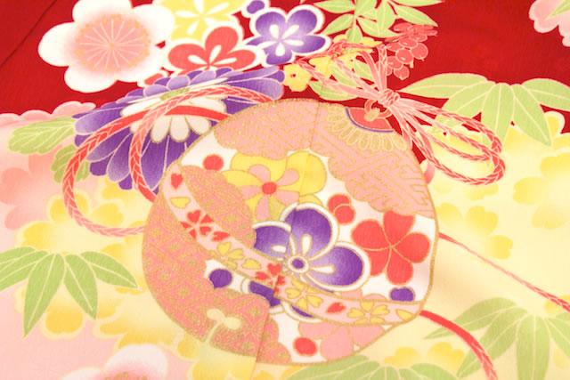 京都丸紅×乙葉コラボレーション☆女の子向け高級初着(産着)