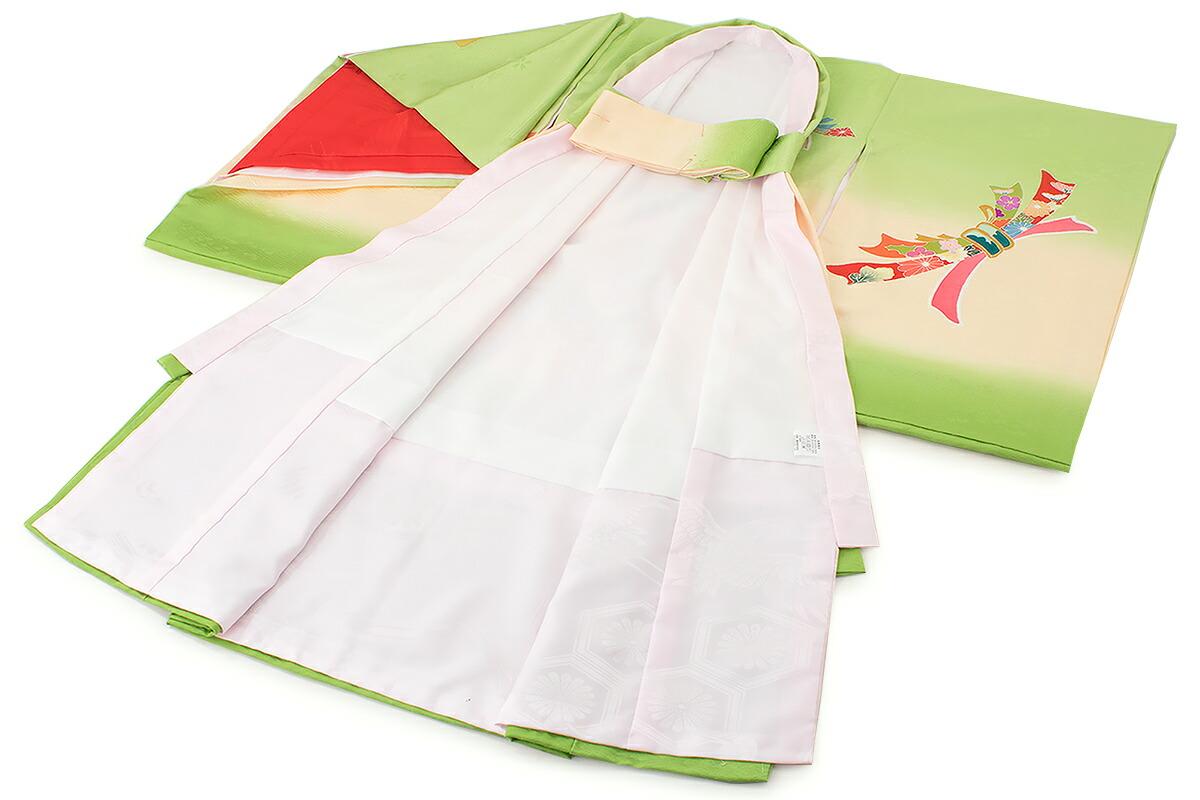 赤ちゃんの健やかな成長を願う正絹の高級初着(産着)