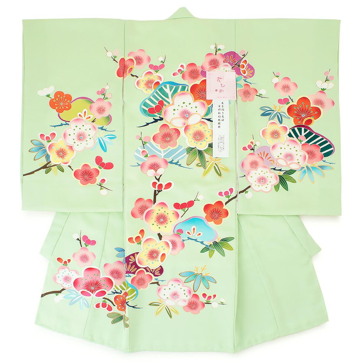 女の子のお宮参りにおすすめな正絹の高級初着(産着)
