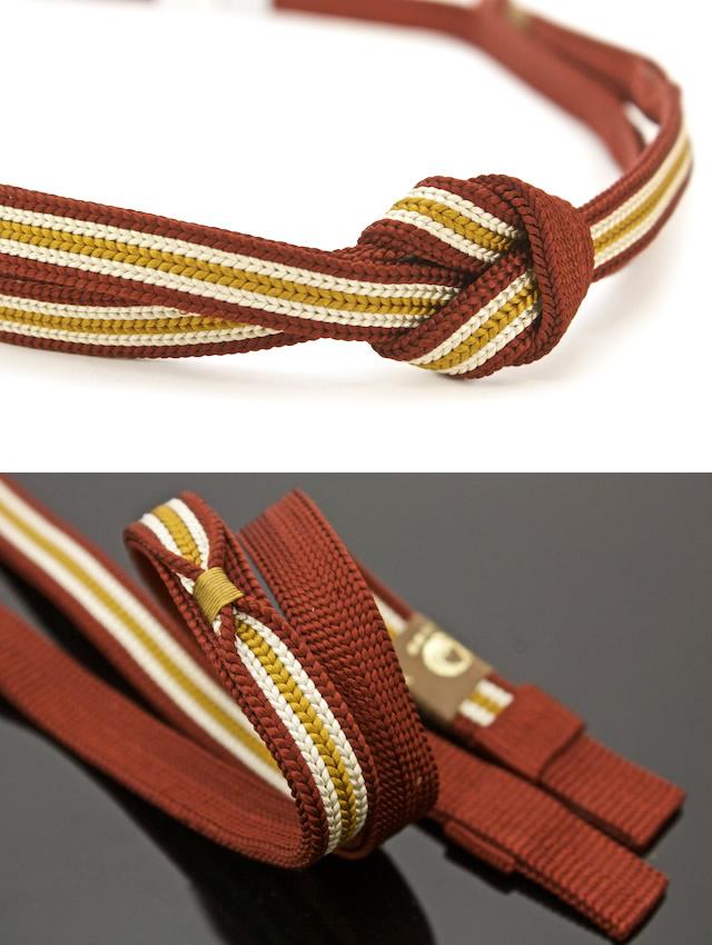 正絹の藤三郎帯締め
