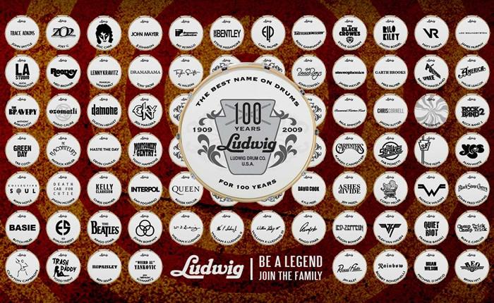 Ludwig / ラディック ドラムセット