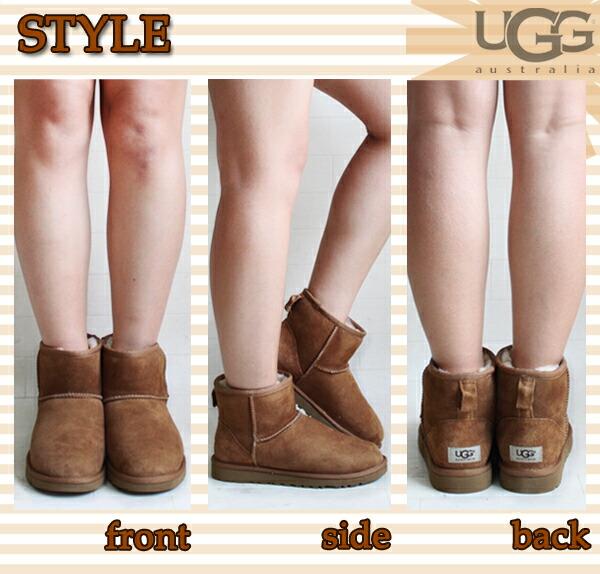 UGG Short Classic 5854 Chestnut Boots