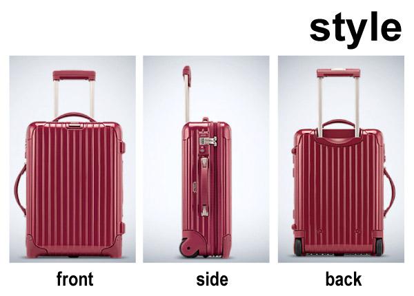 送料無料 正規品 即納 RIMOWA SALSA リモワ サルサ デラックス DELUXE 33L スーツケース キャリーケース 2輪キャスター 軽量 旅行 メンズ レディース 兼用 ( 853.52 )