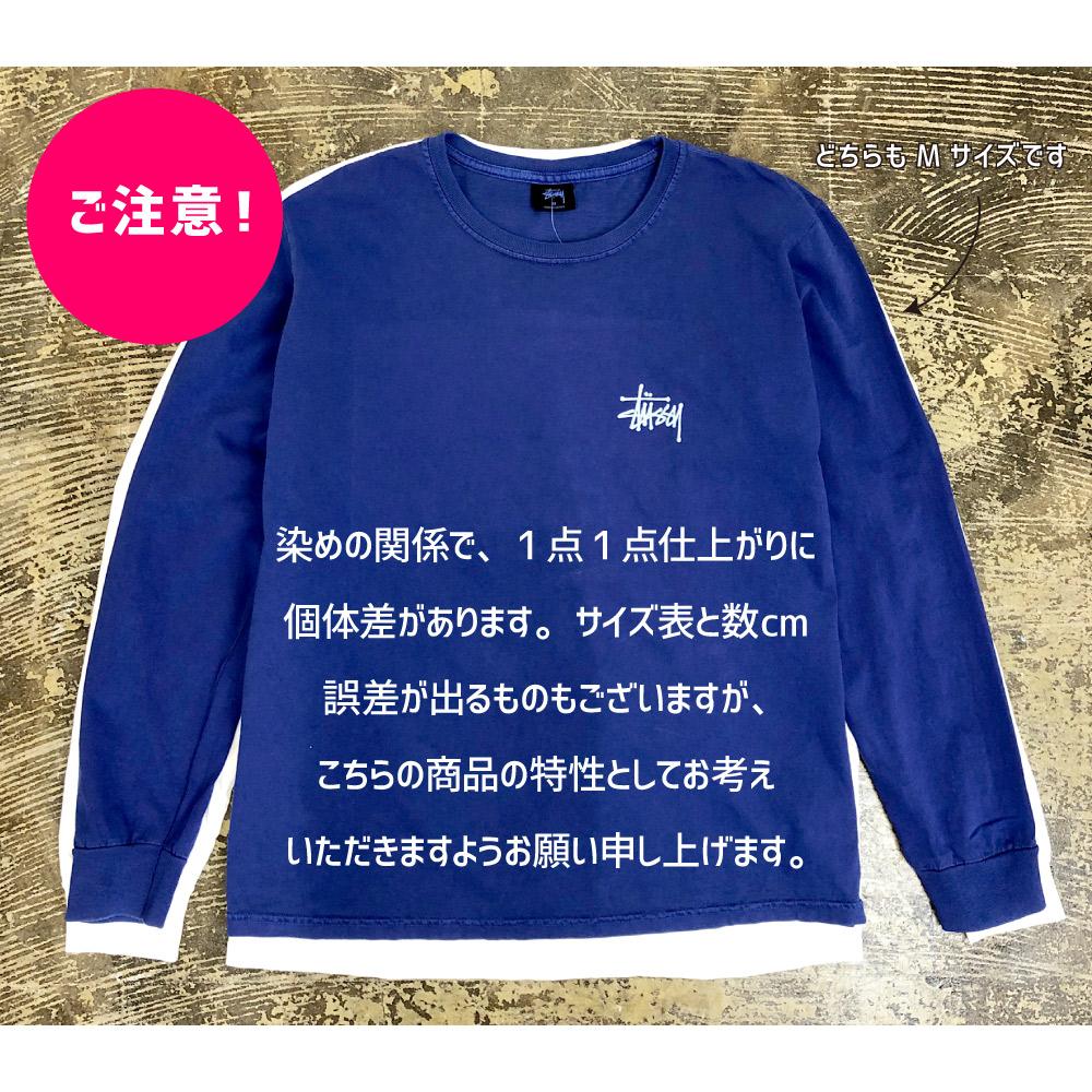 ステューシー Stussy レディース 長袖 プリント Tシャツ 2992665 Longsleeve Basic Pigment Dyed Tee