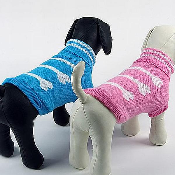 セーター(骨柄)■ドッグウェア■ペットウェア