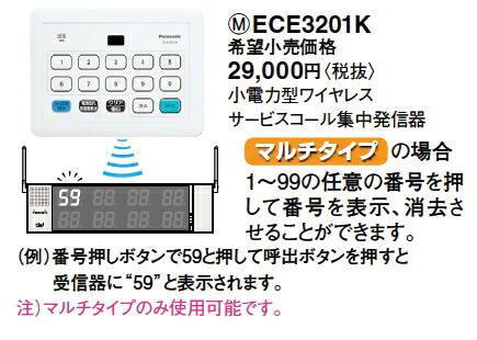 ECE3201K 集中発信器 機能