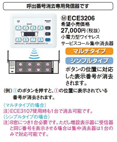 ECE3206 集中消去器 機能