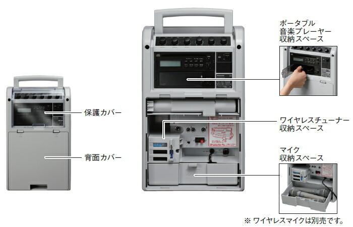 パナソニック ワイヤレスアンプ WX-P31 WX-PW32