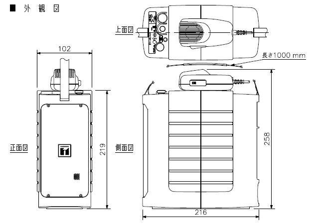 ER-604W 寸法