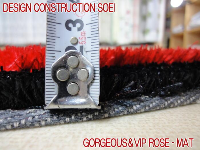 ゴージャスかつVIPラグ ローズシャギーマットが登場 約120×120cm 玄関マット ベットサイドマット リビング 寝室 子ども部屋のアクセントマットとして存在感抜群 サラサラ肌触りで清潔感満点のラグ カーペット