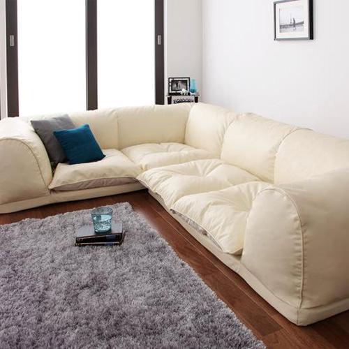 座り心地ふかふか フロアタイプコーナーソファー